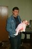 Я и доця :) декабрь 2008