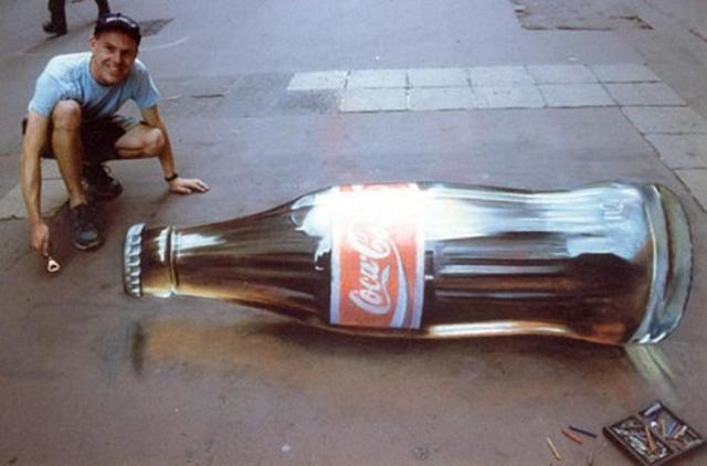 Бутылка Колы