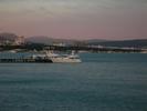 Вид на Геленджик с моря.